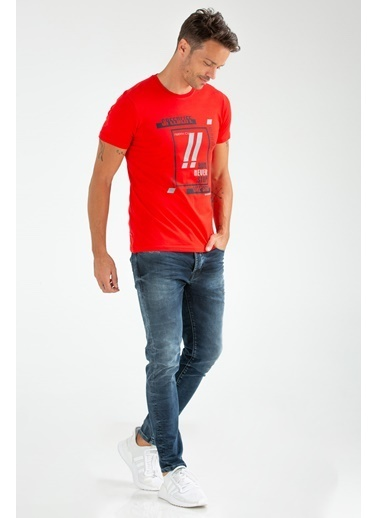 Speedlife Obvious Tişört Kırmızı
